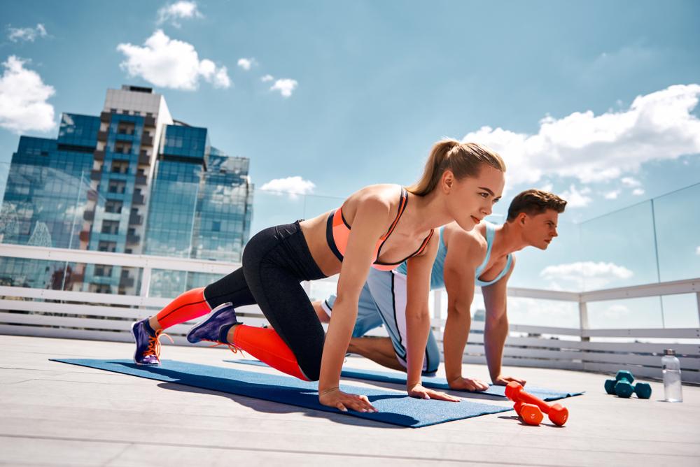 bài tập aerobic giảm mỡ bụng cho người mới tập
