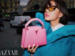 Chiếc túi Louis Vuitton này khiến Châu Bùi mê mẩn, đi đâu cũng dùng