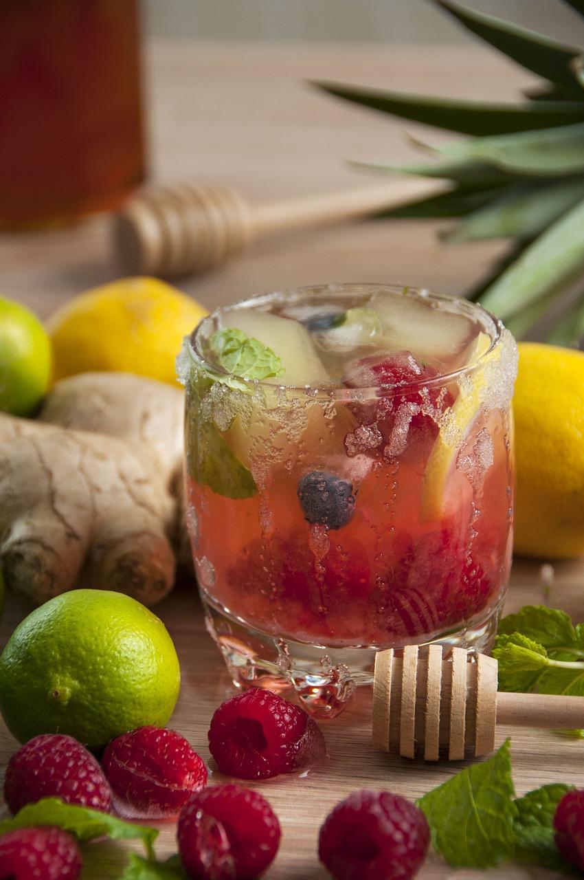 Nước detox các loại quả mọng