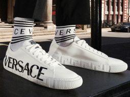 Versace đưa họa tiết Greca lên dòng giày thể thao mới