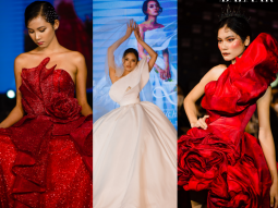 Sinh viên thời trang Đại học Hutech gây bất ngờ với show diễn đồ án dạ hội đầy ấn tượng