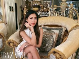 Dù ở nhà, fashionista Tiên Nguyễn vẫn lên đồ đẳng cấp với bộ vòng Tiffany & Co