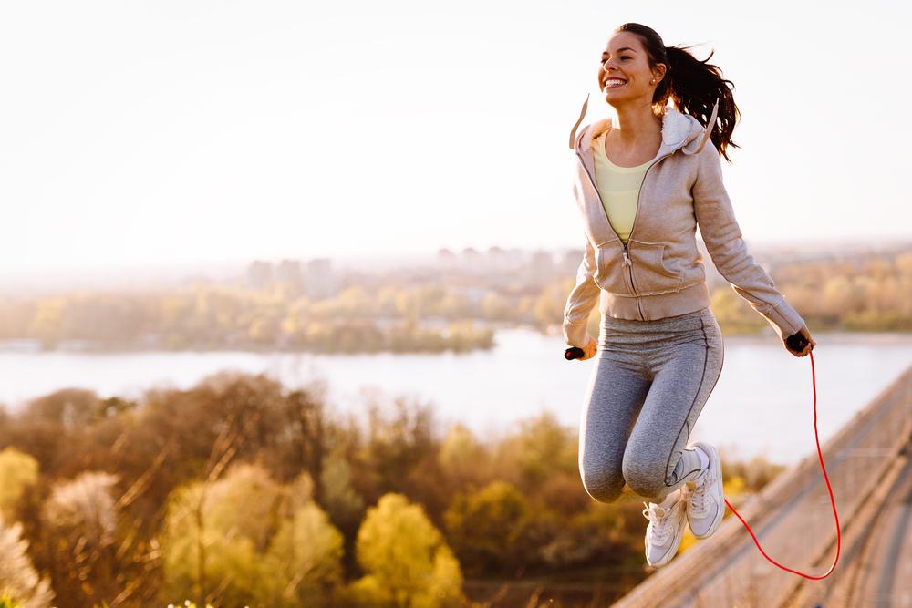 Nhảy dây có giảm mỡ bụng không
