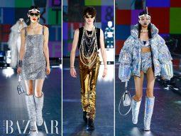 Xu hướng thời trang Thu Đông 2021: Sự trở lại của Disco