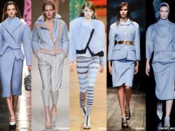 Ý nghĩa màu xanh dương, gam màu vô cực trong thời trang