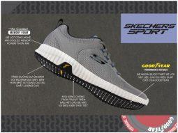Skechers đưa công nghệ cao su chất lượng của Goodyear vào đế giày thể thao
