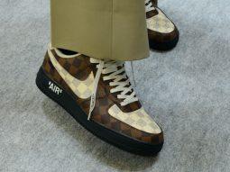 Virgil Abloh ra mắt siêu phẩm Nike Air Force 1 x Louis Vuitton gây sốt cộng đồng hypebeast