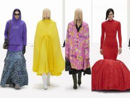 Balenciaga Xuân Hè 2022: Phá tan những giới hạn của trí tưởng tượng với người mẫu ảo