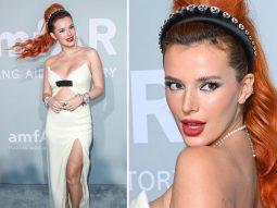 Bella Thorne diện không chỉ 1, mà đến 2 đồng hồ kim cương tại amFAR Gala ở Cannes