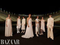 Dior Cruise 2022: Thời trang Hy Lạp cổ đại phối cùng athleisure hiện đại