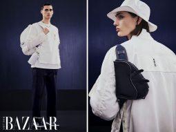 Dior Men x Sacai Thu Đông 2021 đưa vẻ chic của Paris vào sự ngổ ngáo của giới trẻ Nhật