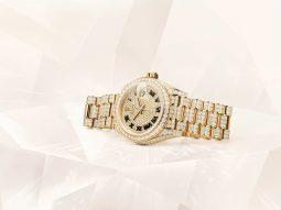 Rolex Oyster Perpetual Lady-Datejust 2021: Những viên kim cương tỏa sáng