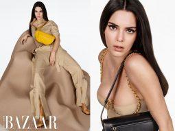 Kendall Jenner đẹp lạnh lùng trong chiến dịch quảng bá mẫu túi Burberry Olympia