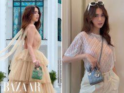 Ngọc Trinh tậu không chỉ một mà đến ba mẫu túi Micro Lady Dior mới