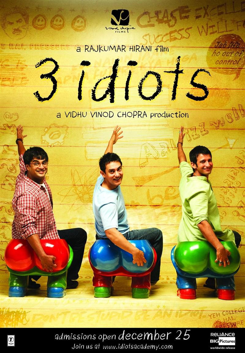 Phim hài hước nhất thế giới: Ba chàng ngốc