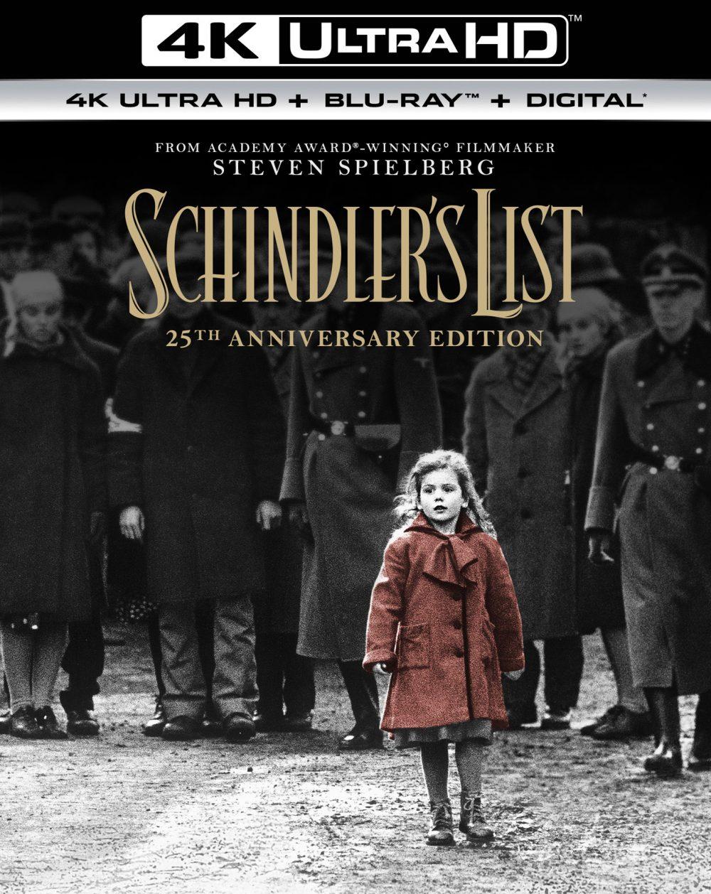 100 phim hay nhất mọi thời đại:Bản danh sách của Schindler
