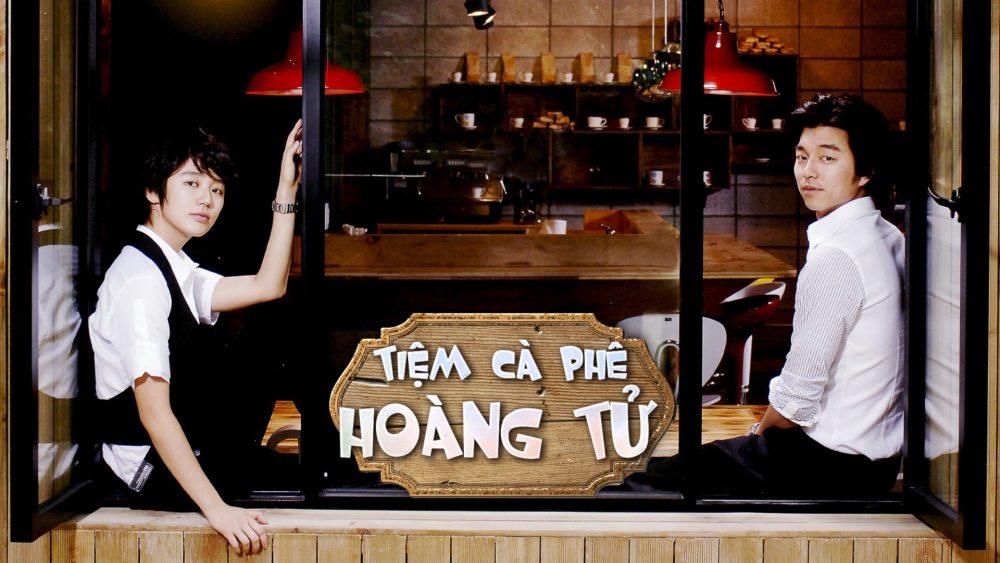 Phim mô típ hoàng tử Lọ Lem Hàn Quốc:Tiệm cà phê hoàng tử