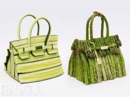 Hermès tung ra túi Birkin làm từ…rau củ