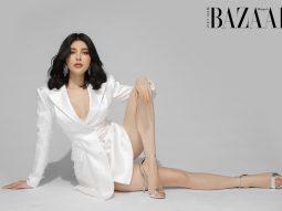 Lily Chen lúc e ấp, khi bốc lửa trong trang phục Chung Thanh Phong