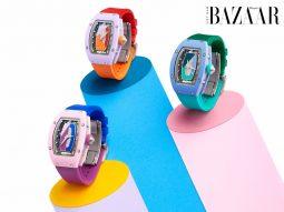 Richard Mille ra mắt đồng hồ RM 07-01 Coloured Ceramics phiên bản giới hạn