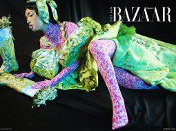 Không cần studio, Châu Bùi và Tang Tang chụp cả bộ hình thời trang nghệ thuật ngay tại nhà lúc giãn cách