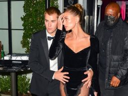 Justin và Hailey Bieber gây sốt với trang phục dạ tiệc đậm chất Hollywood hoàng kim