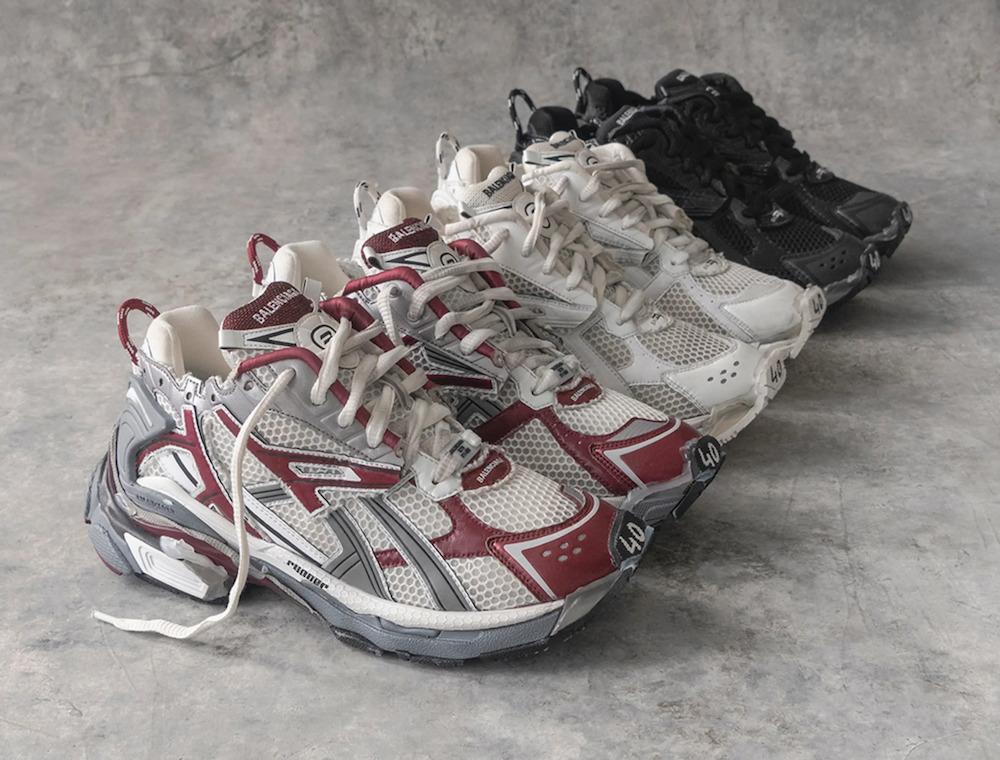 Balenciaga tung ra giày thể thao Runner, số lượng giới hạn chỉ 650 đôi