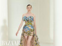 Elie Saab Haute Couture Thu Đông 2021 tràn ngập hoa và hy vọng