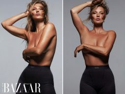 Thành tựu mới của Kim Kardashian: Mời Kate Moss làm mẫu cho SKIMS