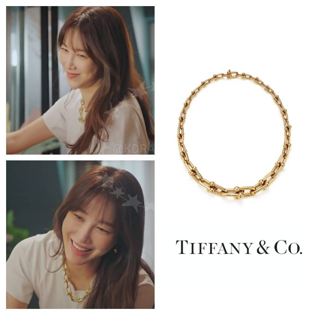 Lee Ji Ah đeo toàn trang sức Tiffany & Co trong phim Penthouse 3