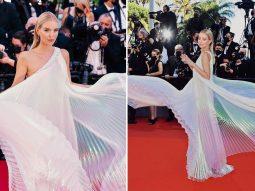 Những cú xoay váy đẹp thần sầu trên thảm đỏ Liên hoan phim Cannes 2021
