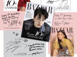 Các ngôi sao chúc mừng sinh nhật 10 năm của Harper's Bazaar Việt Nam