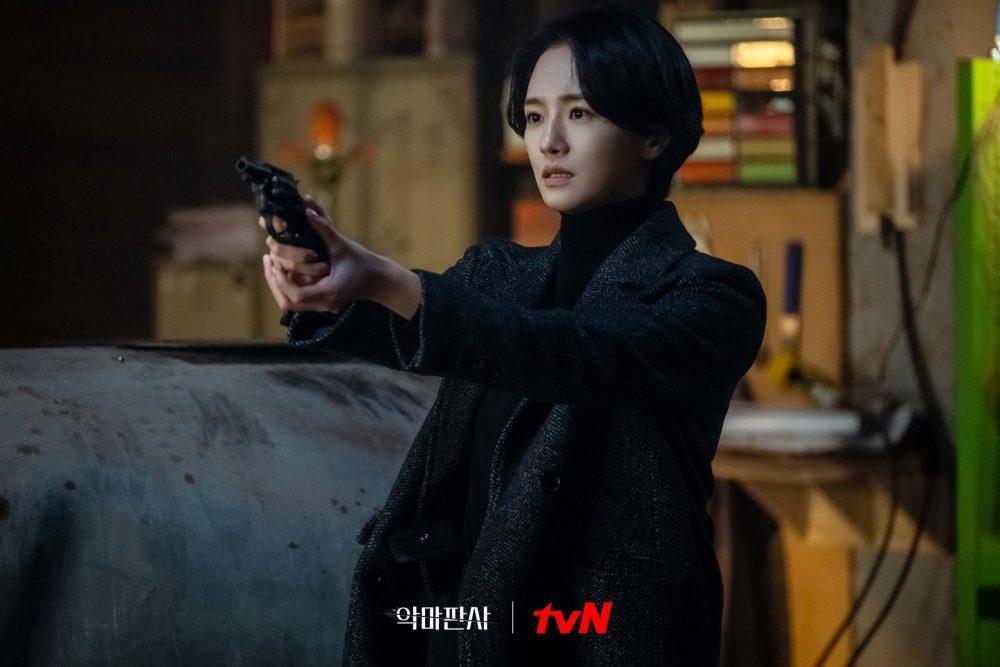 Nữ cảnh sát Yoon Soo Hyun trong phim