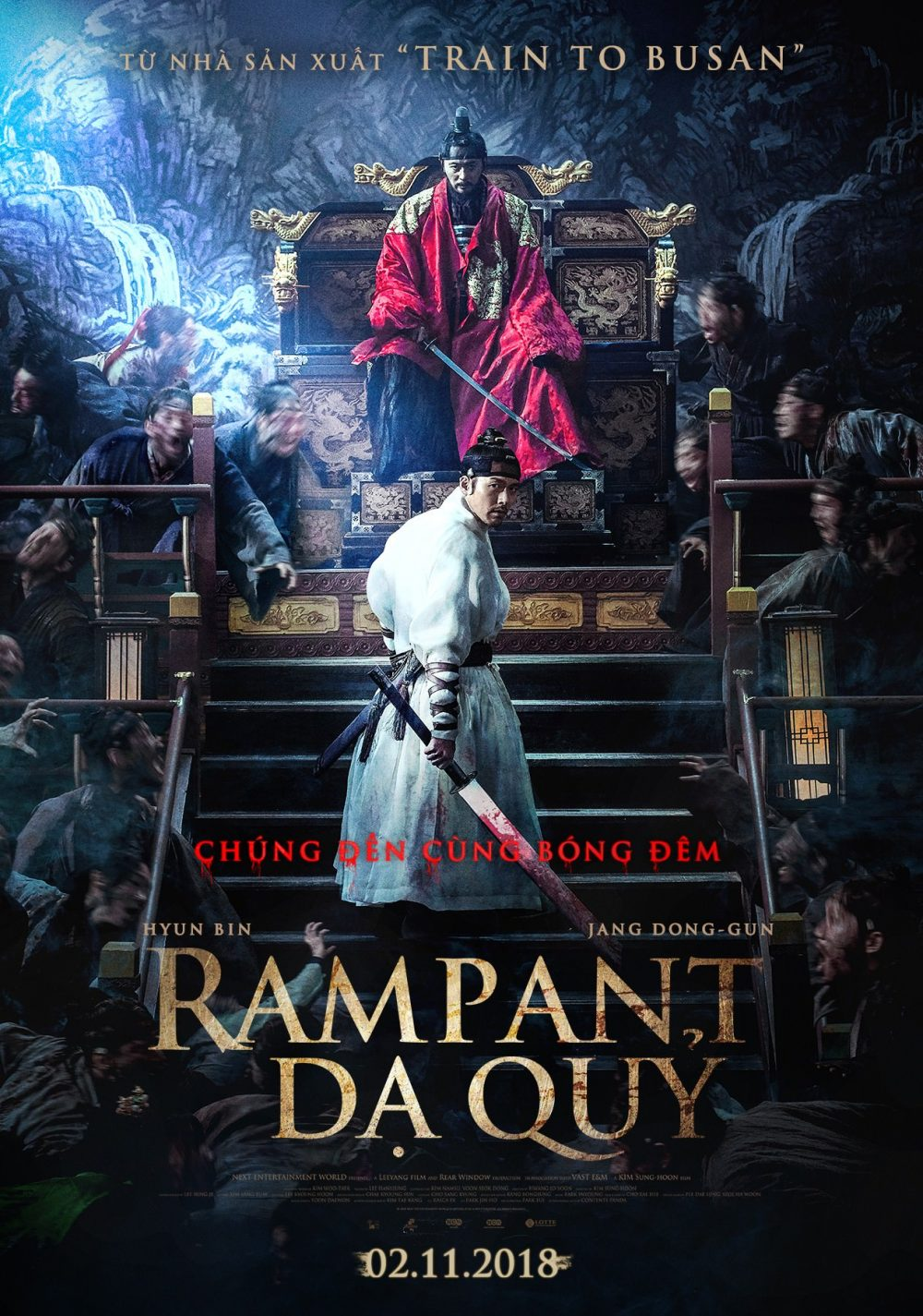 Dạ quỷ - Rampant (2018)