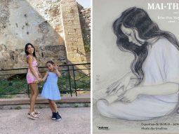 Đi xem triển lãm tranh Mai Trung Thứ quý hiếm cùng Jenny Kim