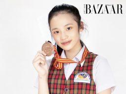 Mẫu nhí Bảo Hà vừa giành Huy chương Đồng tiếng Anh Olympic TP HCM lại giật luôn học bổng trường Quốc tế