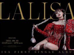 Em út BLACKPINK, Lisa Manoban, tung teaser cho album solo
