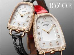 Đồng hồ Galop d'Hermès: Cảm hứng từ bàn đạp trên yên cương đua ngựa