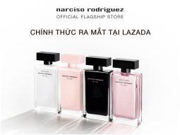 Nước hoa Narciso Rodriguez chính thức mở cửa hàng trực tuyến trên Lazmall của Lazada