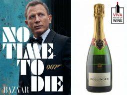 Rượu vang Bollinger x James Bond: biểu tượng của quý ông lịch lãm