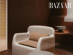 Nét thô mộc tinh tế của nội thất Hermès tại Milan Design Week 2021