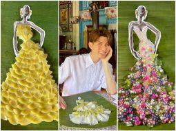 Nguyễn Minh Công biến 7 loại bánh Nam Bộ thành đầm công chúa lộng lẫy