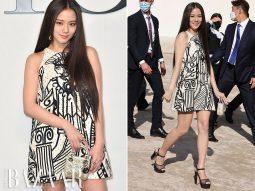 Jisoo BLACKPINK hạnh phúc khi được dự show Dior Xuân Hè 2022