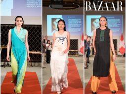 Hai NTK Việt Ngọc Anh và Thanh Nga trình diễn thời trang tại Thụy Sỹ