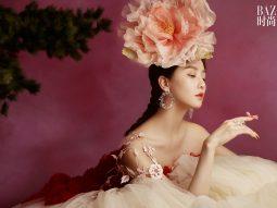 Lưu Thi Thi hóa tiên hoa mẫu đơn cùng Harper's Bazaar