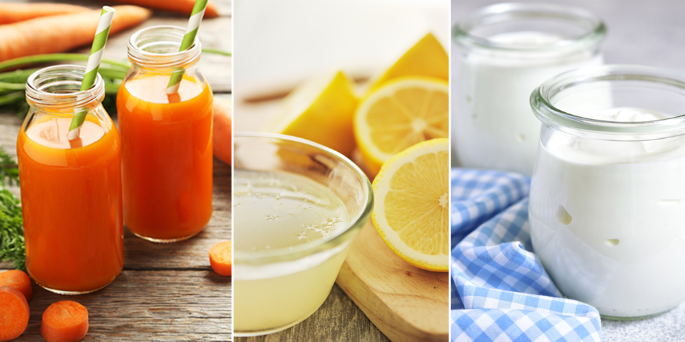 Mặt nạ cà rốt, sữa chua cho làn da rạng rỡ, tươi sáng
