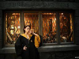 Cùng Ngô Cẩn Ngôn lạc vào thế giới Harry Potter ở Universal Studio Bắc Kinh