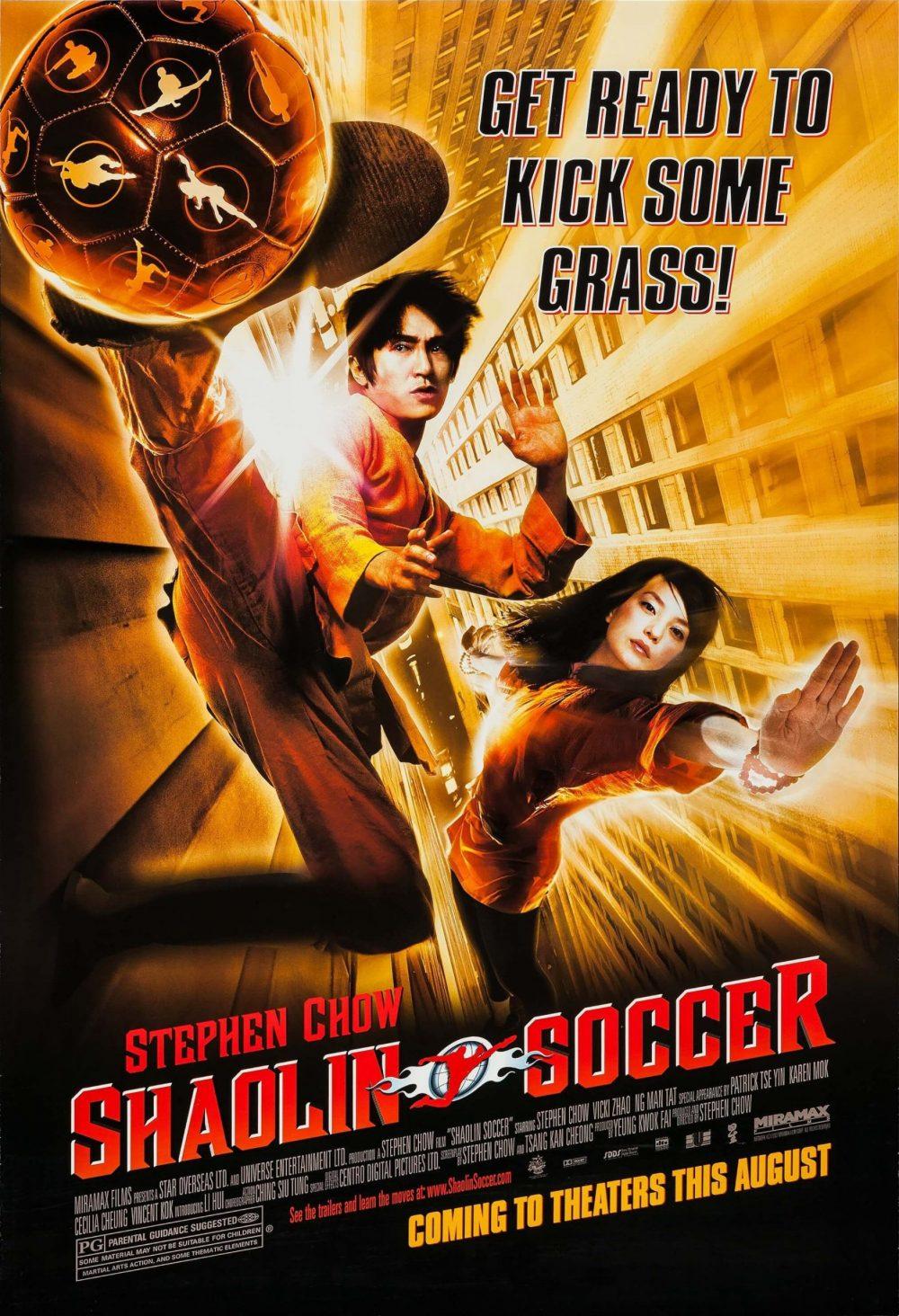 Phim hay nhất của Châu Tinh Trì: Đội bóng Thiếu Lâm