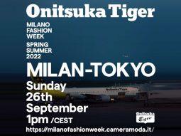 Onitsuka Tiger hướng đến Tuần lễ thời trang Milan cho BST Xuân Hè 2022