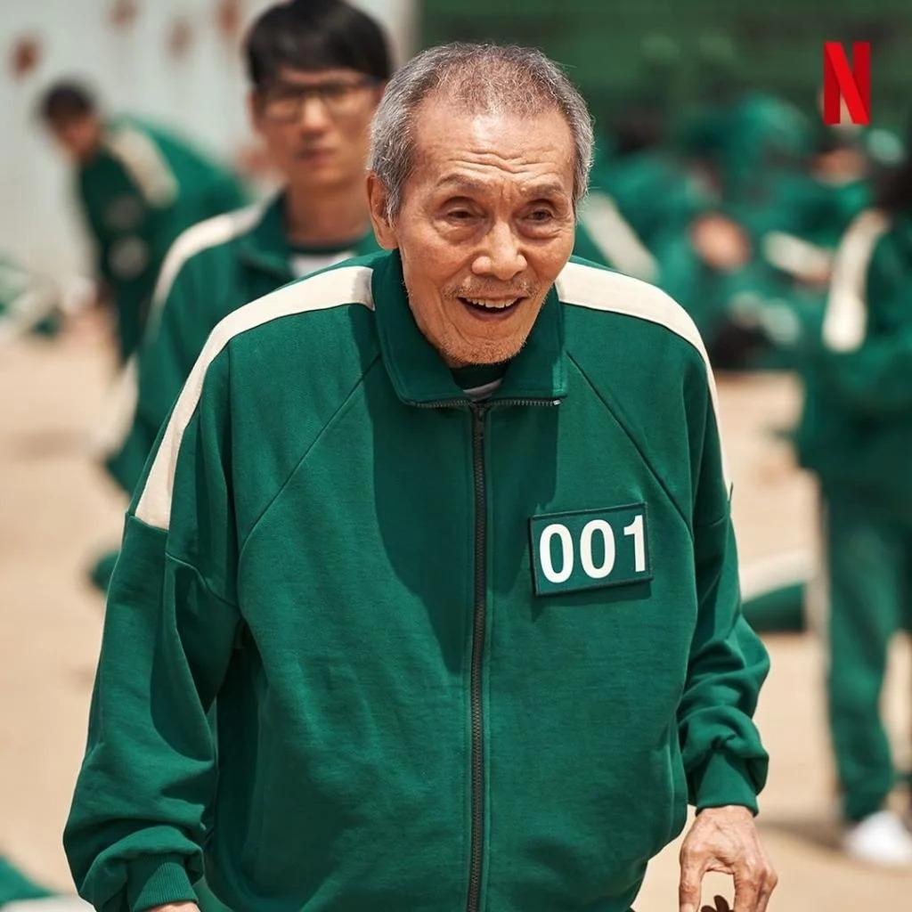 Oh Il Nam (Oh Young Soo đóng) trong phim Trò chơi con mực